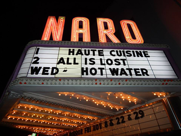 HOT WATER at the Naro Theater